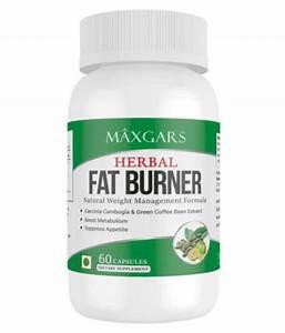 Maxgars Herbal Fat Burner  60 Capsules