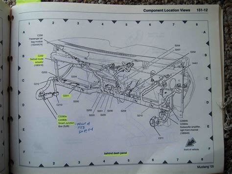 2008 gt headlight wiring diagram ford mustang