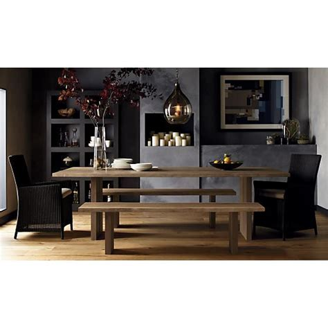 crate and barrel dining room table dining table crate barrel dakota dining table