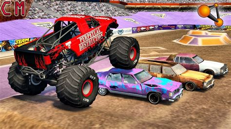 monster truck videos crashes monster truck fun crashes monster jam jumps beamng drive