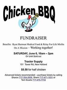 Cancer Fundraiser Flyer Template Ryan Sherman Fundraiser Garden Spot High School