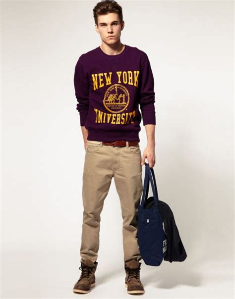 Cute Cheeky hot guy outfit ) good for high school/university classes- comfy and stylish ...