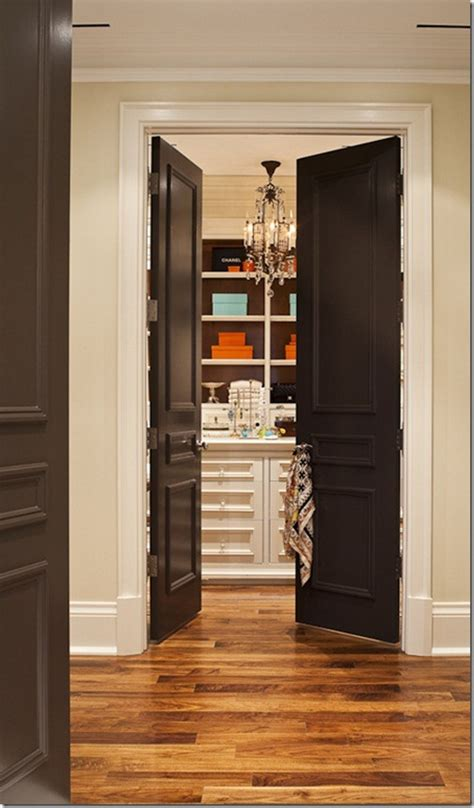 Painting Interior Doors Black!  Southern Hospitality