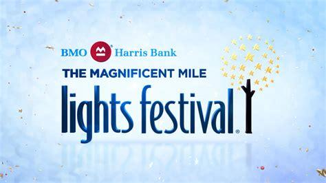 magnificent lights parade 2017 2015 magnificent mile lights festival abc7chicago com