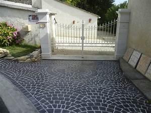 Beton Decoratif Exterieur : terrasse beton noir nos conseils ~ Melissatoandfro.com Idées de Décoration