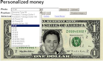 Customizable Money Template by Personalized Money Maker Veerublog