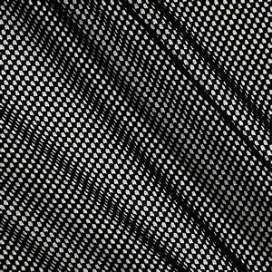 Fishnet Mesh Spandex Knit Black - Discount Designer Fabric ...