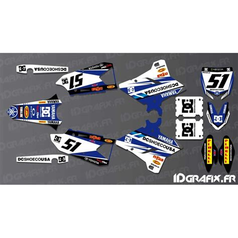 kit deco yz 125 kit decoration dc edition yamaha yz yzf 125 250 450 idgrafix
