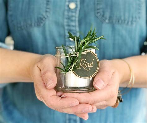 repurposed yogurt jar votive gift idea robb restyle