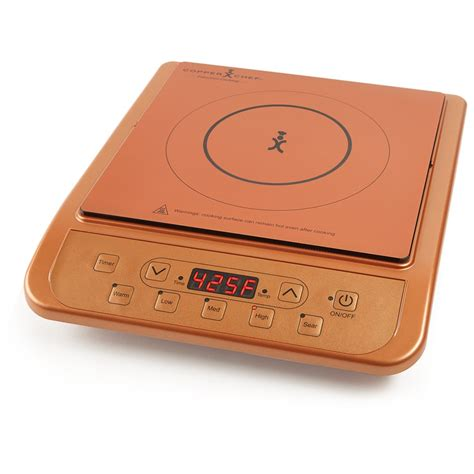 copper portable induction cooktop countertop camping hot plate burner ebay