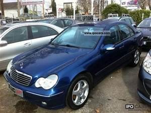 Mercedes C220 Cdi 2002 : 2002 mercedes benz c 220 c 220 cdi avantgarde lasse car photo and specs ~ Medecine-chirurgie-esthetiques.com Avis de Voitures