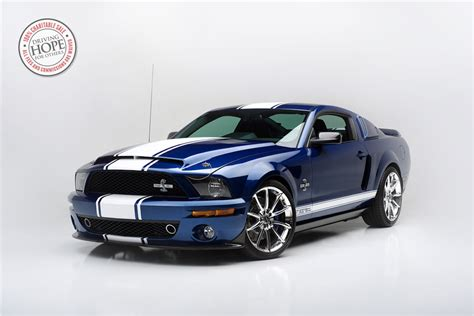 This Shelby Gt500 Super Snake Sold For $1,000,000