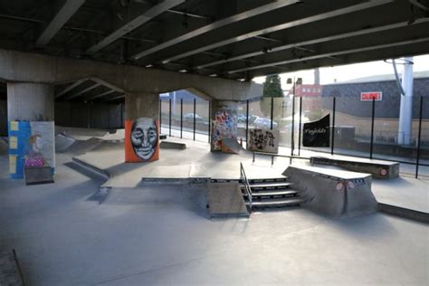 Projekts Mcr Skateboard Park - CASC