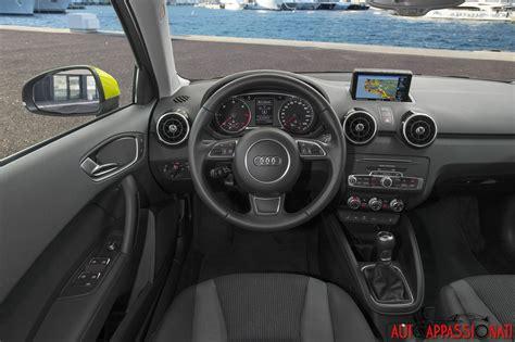 Audi A1 Interni nuova audi a1 sportback 2015 la prova in anteprima