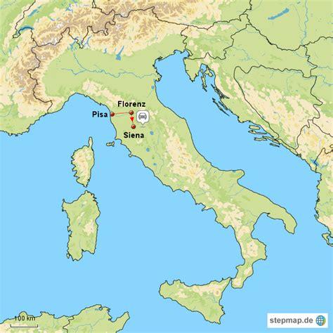 Florenz Karte Italien