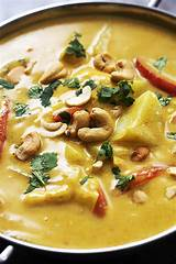 Asian coconut chicken curry recipe