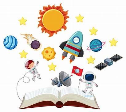 Solar System Clipart Vector Astronauts Clip Premium