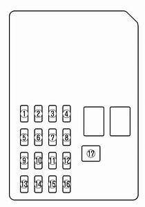 Mazda 6  2004  - Fuse Box Diagram