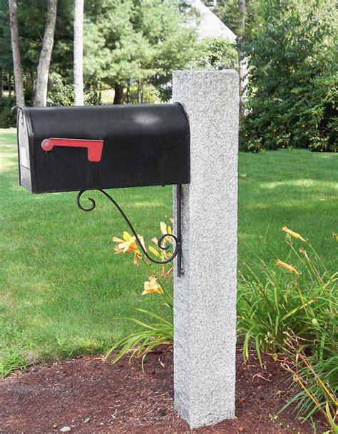 granite mailbox post gallery westwood mills