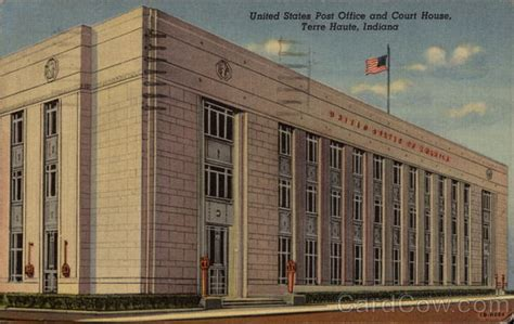 United States Post Office And Court House Terre Haute, In