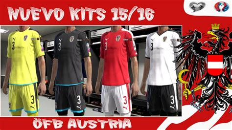 pes 2013 214 fb austria kits 2016 by kp soccer pes patch
