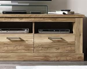 Meuble Tv Bois : meuble banc tv bois clair moderne zovina ~ Teatrodelosmanantiales.com Idées de Décoration