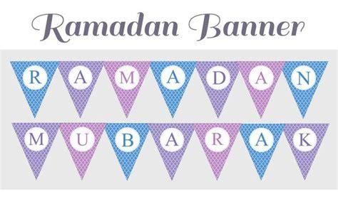 printable ramadan banner ramadan printables