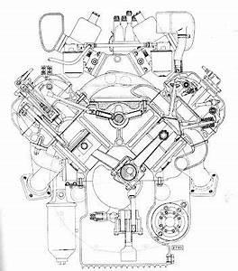 daimler v8 250 sedan blueprints cutaways drawings With block further jaguar engine diagram further bentley w12 engine cutaway