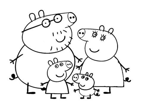 disegni on line da colorare peppa pig 10 disegni da colorare di peppa pig
