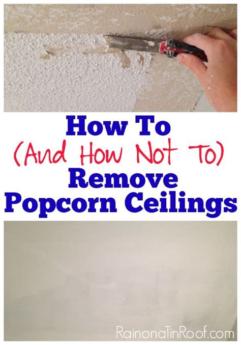 can you scrape popcorn ceiling you can attach a plastic bag to this popcorn ceiling