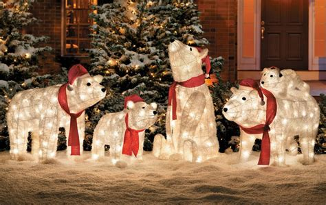 Pre Lit Entryway Christmas Trees by Winter Wonderland Outdoor Christmas Decoration Ideas