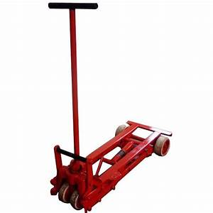 Street Light Manufacturer Industrial Trolley Mechanical Elevating Trolley