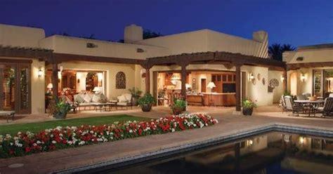 Southwest-style Pueblo Desert Adobe Home Possible Exterior