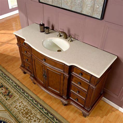 60 inch bathroom vanity top single sink silkroad exclusive 60 inch bathroom single sink vanity