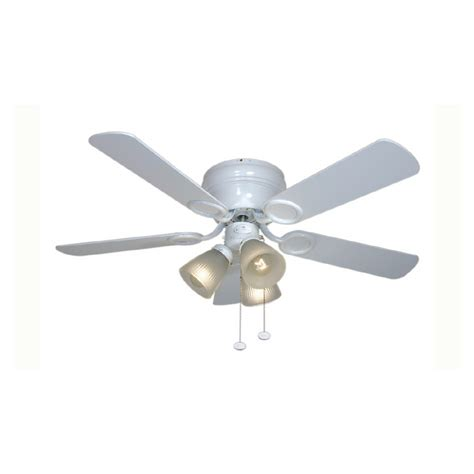 shop harbor 42 quot cheshire white ceiling fan at lowes