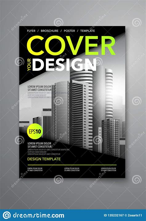 Vector Black Color Scheme With City Background Business