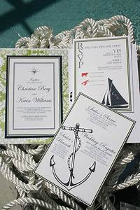 nautical wedding invitations tying the knot With nautical wedding invitations with photo
