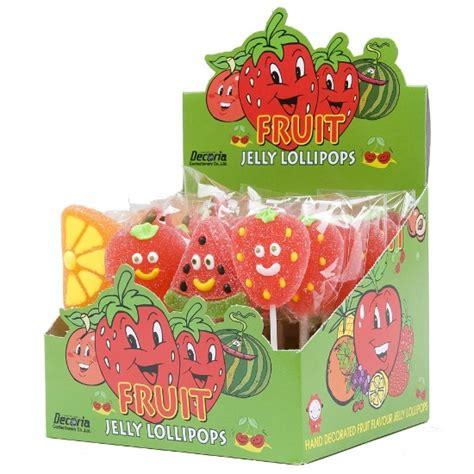 decoria jelly fruit lollipop kean ann  pte