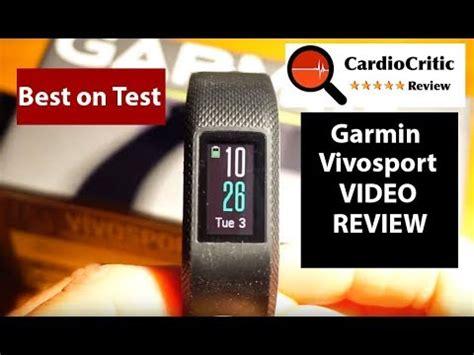 garmin vivosport review the best gps featured fitness