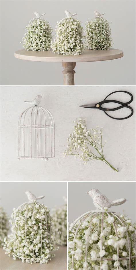 diy bird cage decoration diy wedding centrepieces confetti co uk