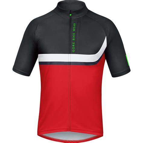 bike wear gore bike wear power trail jersey short sleeve men 39 s