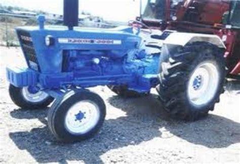 tractor models     service manual