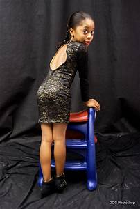 Unbelievable! See Photos of a 7-year-old Nigerian Model ...