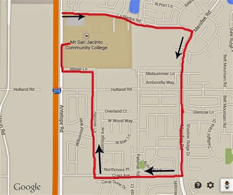 route parking limits posted for southshore color run