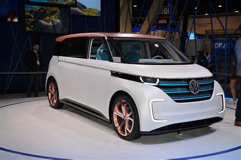 volkswagen budd  concept electric minivan