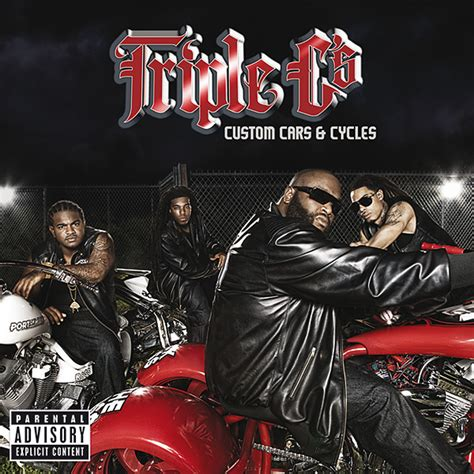 Triple C's  Custom Cars And Cycles (album Cover) Hiphop