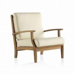 Coussin fauteuil de jardin en bois table de lit for Fauteuil jardin bois