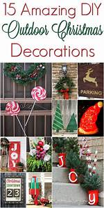 Diy, Christmas, Outdoor, Decorations, Christmasdecorations