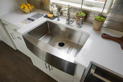 moen apron front sink photos hgtv