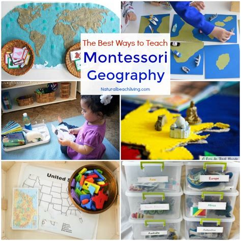 12 months of the best montessori activities for preschool 201 | Teach Montessori Geography fb